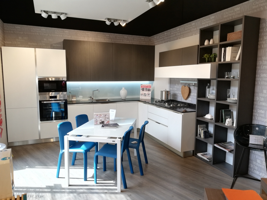 Top Quarzo Nero Veneta Cucine.Veneta Cucine Mod Ethica Go